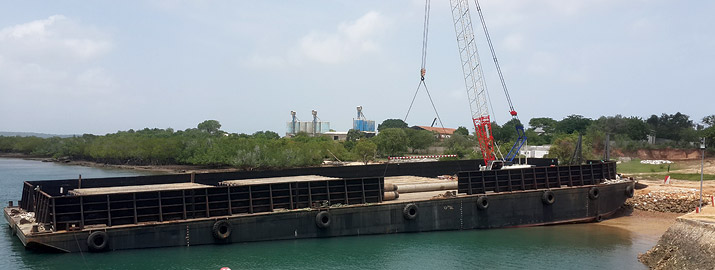 Comarco 185 - Flat Top Barge - Comarco Group - Marine